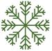 snowflake2_75_green